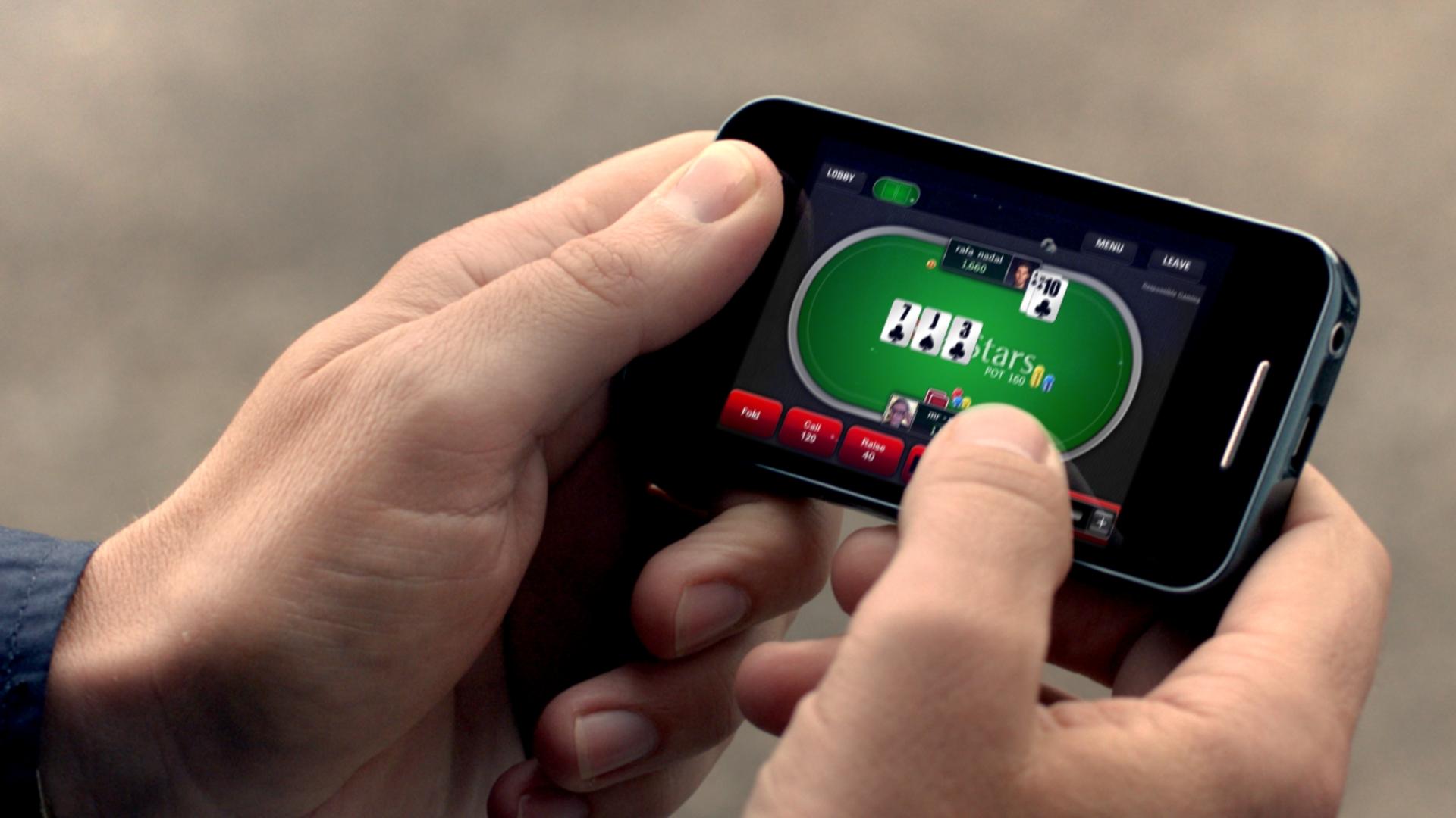pokerstars mobile